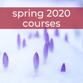 Spring 2020 Courses