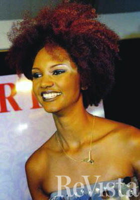 Leda in her international modeling career and as a symbol of black pride.