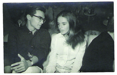 At a party in Punta del Este, summer 1970.