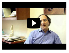 Video still of Museum Director Peter Manuelian, linking to video.