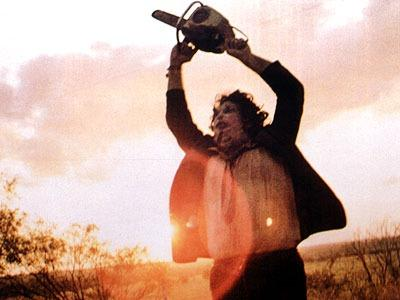 still from Texas Chainsaw Massacre