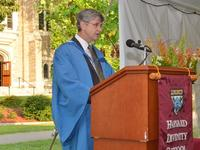 Dean David N. Hempton delivers the 2012 Convocation Address