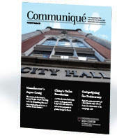Cover of Fall 2019 Communique Magazine