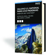Valuing National Parks Book Cover