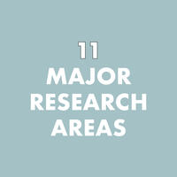 CCB has 11 major research areas