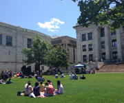 Students on Quad