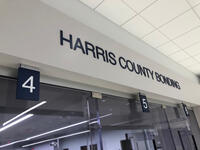 Harris County bonding sign