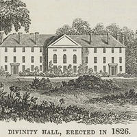 Divinity Hall in 1826