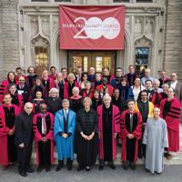 HDS faculty, 2016 Convocation
