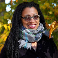 Robin Coste Lewis, MTS '97, photo by Amanda Schwengel, courtesy of Hampshire College