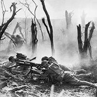 World War I battlefield