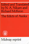Edicts of Asoka book cover