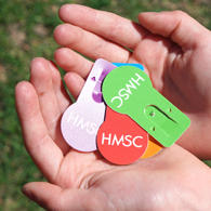 Picture of HMSC Tags for Earth Day