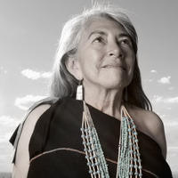 Matika Wilbur, Dr. Mary Evelyn Belgarde (Pueblo of Isleta and Ohkay Owingeh), 2014. Inkjet print, 16 x 20 inches.