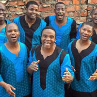 Photo of Ladysmith Black Mambazo from presenter Global Arts Live