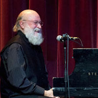Photo of Terry Riley from presenter Global Arts Live
