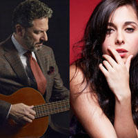 Celebrity Series of Boston presents John Pizzarelli Trio's Nat King Cole Centennial and Veronica Swift on Friday, February 14, 2020
