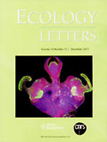 Cover Ecology Letters 2011