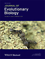 Journal of Evolutionary Biology V27 Cover