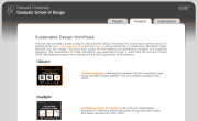 Sustainable Design Workflows