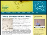 Q: a knowledge center devoted to qualitative research