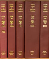 Spines of 5 volumes of HSCP