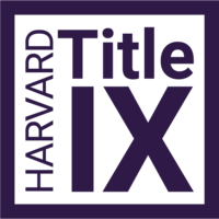 Harvard Title IX Office Logo