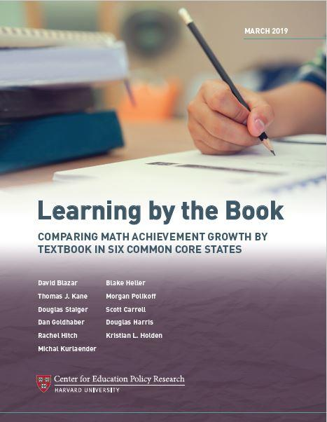 Learning by the Book Report Cover
