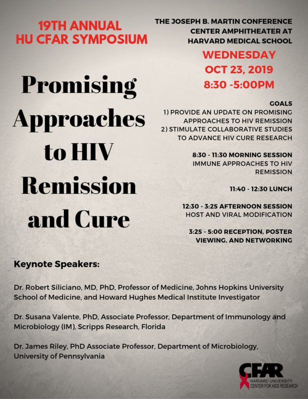 Cure Symposium flyer
