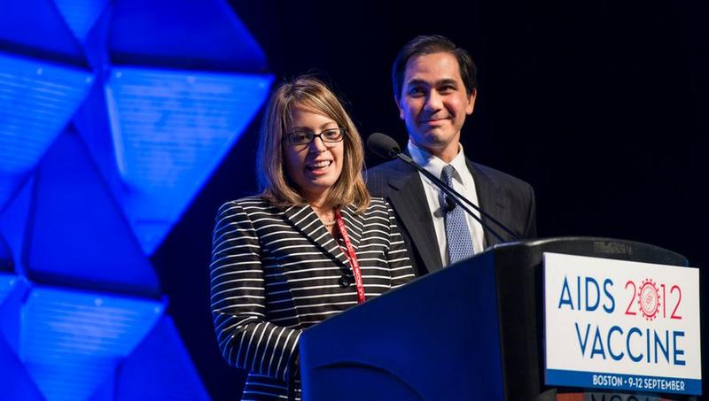 Drs. Barouch and Alter at AIDS Vaccine 2012