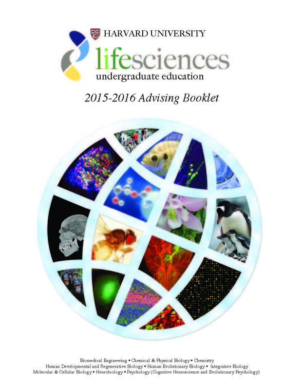 Life Sciences Advising Book 2015-2016