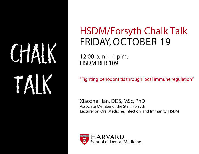 October Chalk Talk
