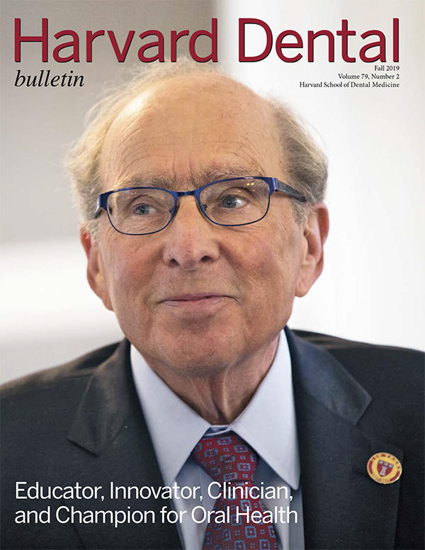 Dean Donoff on the cover of Bulletin magazine