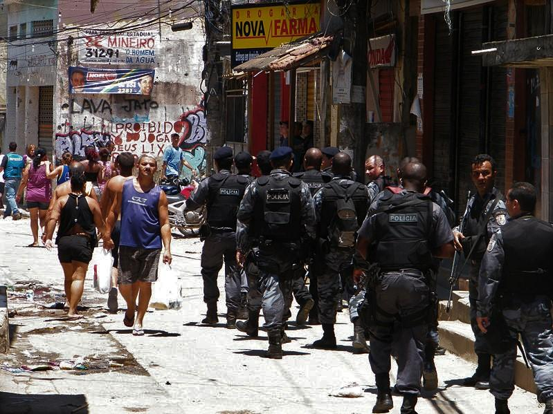 Swat Team in Brazilian Favela
