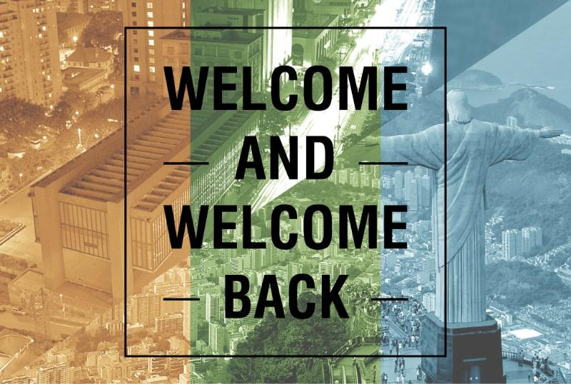 Welcome and Welcome Back 2018