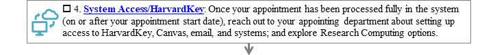 4. System Access - Harvard Key