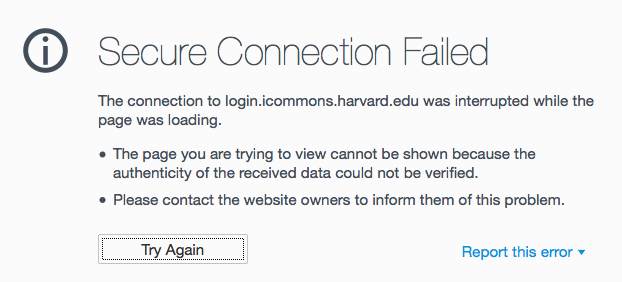 SSL Errors in Firefox 37 | Academic Technology for FAS