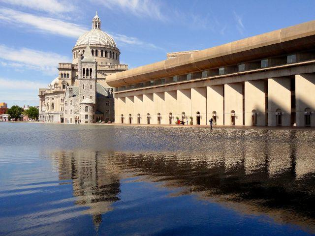 Christian Science Temple in Boston