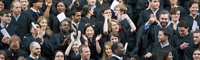2011 Commencement students cheering