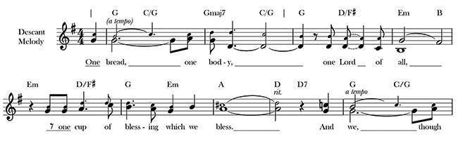 "Poets on Hymns: ""One Bread, One Body"" | Harvard Divinity Bulletin"