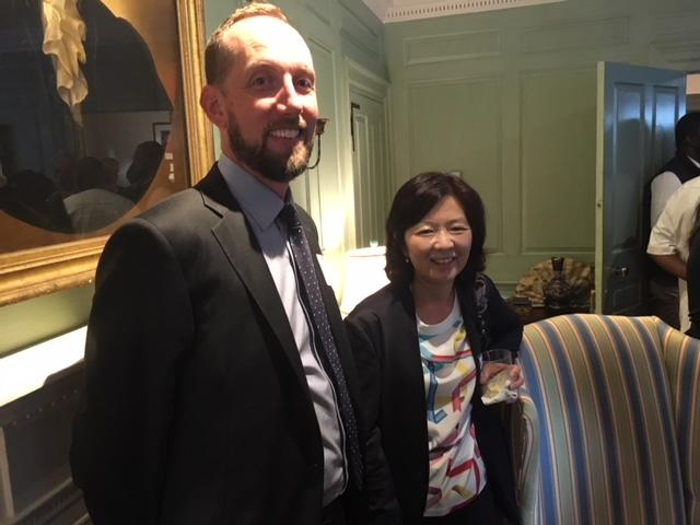 Paul Harris of Australian National University and Hideko Sumita of Keio University