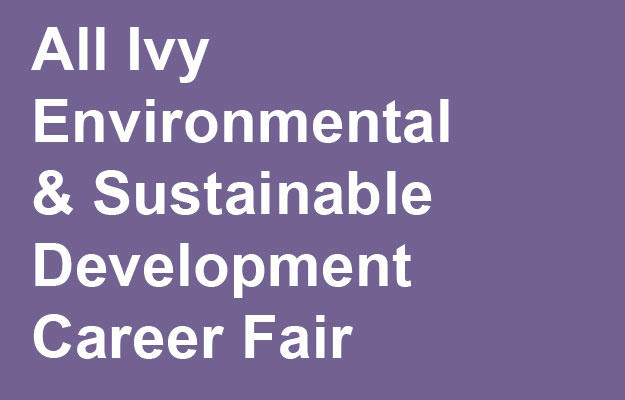 Link to All Ivy Sustainable Development Career Fair Information