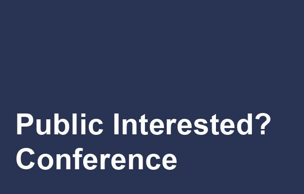 Public Interested? Conference Link