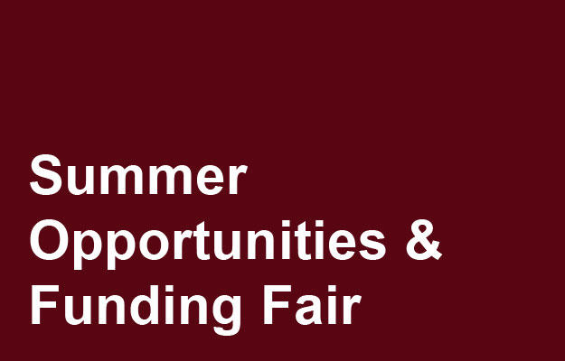 Summer Opportunities Fair Link