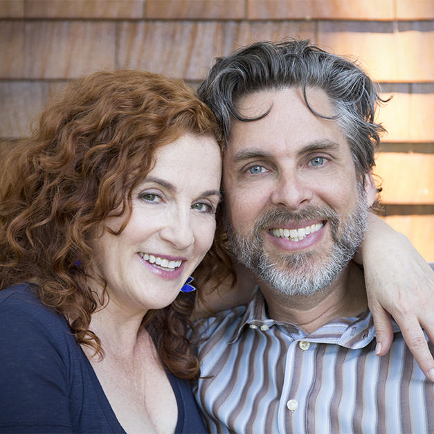 Headshot of Michael Chabon and Ayelet Waldman