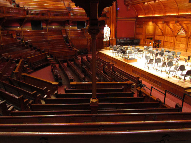 Sanders Theatre Views Office For The Arts At Harvard