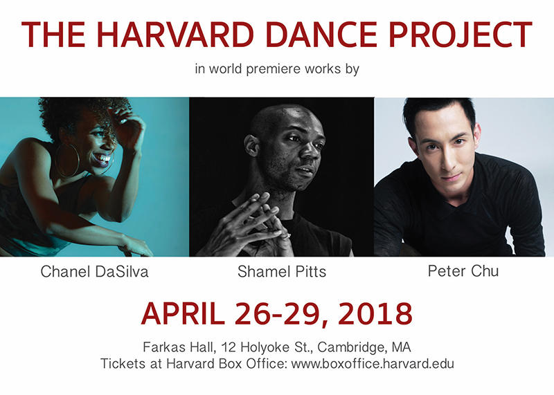 Spring 2018 Harvard Dance Project Performances