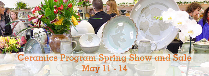 Ceramics Program Spring Show and Sale