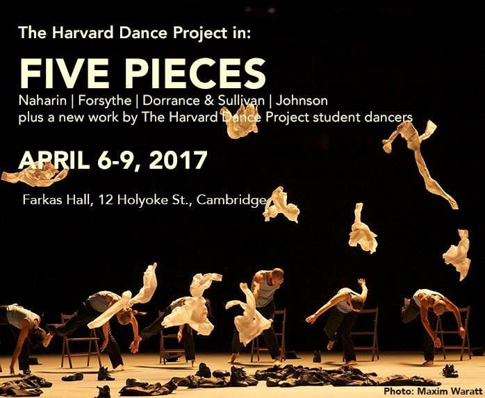 The Harvard Dance Project in: FIVE PIECES