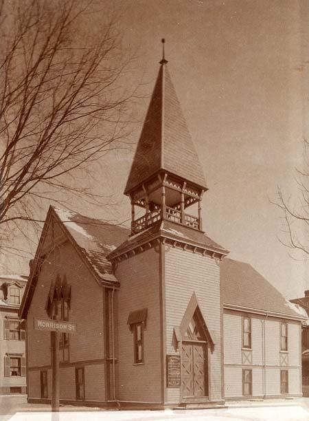 Historic image of West Somerville Universalist Church